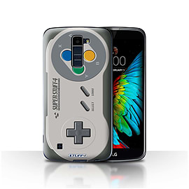 STUFF4 Case/Cover for LG K10 /K420/K430 / Super Nintendo Design / Games Console Collection Mobile phones