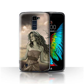 Official Elena Dudina Case/Cover for LG K10 /K420/K430/Notre Dame Design/Fairy Tale Character Mobile phones