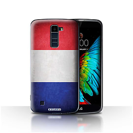 STUFF4 Case/Cover for LG K10 /K420/K430 / France/French Design / Flags Collection Mobile phones