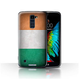 STUFF4 Case/Cover for LG K10 /K420/K430 / Ireland/Irish Design / Flags Collection Mobile phones