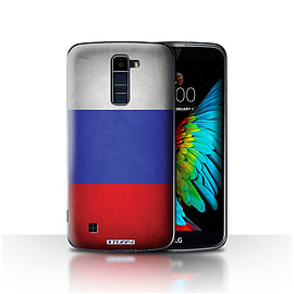 STUFF4 Case/Cover for LG K10 /K420/K430 / Russia/Russian Design / Flags Collection Mobile phones