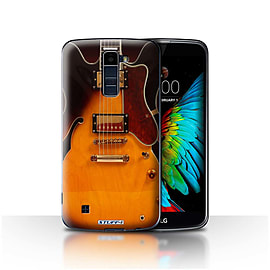 STUFF4 Case/Cover for LG K10 /K420/K430 / Semi Acoustic Design / Guitar Collection Mobile phones