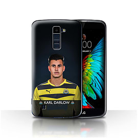 Newcastle United FC Case/Cover for LG K10 /K420/K430/Darlow Design/NUFC Football Player 15/16 Mobile phones