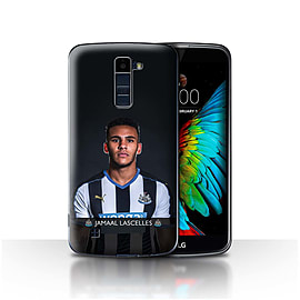 Newcastle United FC Case/Cover for LG K10 /K420/K430/Lascelles Design/NUFC Football Player 15/16 Mobile phones