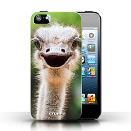 STUFF4 Case/Cover for Apple iPhone SE / Ostrich/Emu Design / Wildlife Animals Collection Mobile phones