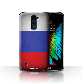 STUFF4 Case/Cover for LG K7 /X210 / Russia/Russian Design / Flags Collection Mobile phones