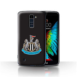 Official Newcastle United FC Case/Cover for LG K7 /X210/Colour/Black Design/NUFC Football Crest Mobile phones