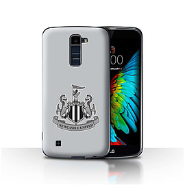 Official Newcastle United FC Case/Cover for LG K7 /X210/Mono/Grey Design/NUFC Football Crest Mobile phones