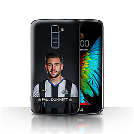 Official Newcastle United FC Case/Cover for LG K7 /X210/Dummett Design/NUFC Football Player 15/16 Mobile phones