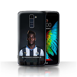 Official Newcastle United FC Case/Cover for LG K7 /X210/Ha?dara Design/NUFC Football Player 15/16 Mobile phones