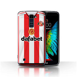 Official Sunderland AFC Case/Cover for LG K7 /X210/Footballer Design/SAFC Home Shirt/Kit 15/16 Mobile phones