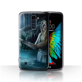Official Elena Dudina Case/Cover for LG K8/K350N/Phoenix 2/Water/Baby Design/Dragon Reptile Mobile phones