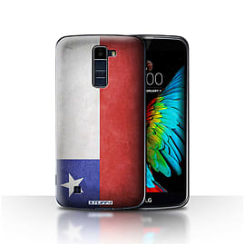 STUFF4 Case/Cover for LG K8/K350N/Phoenix 2 / Chile/Chiliean Design / Flags Collection Mobile phones