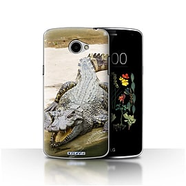 STUFF4 Case/Cover for LG K5/X220/Q6 / Crocodile Design / Wildlife Animals Collection Mobile phones