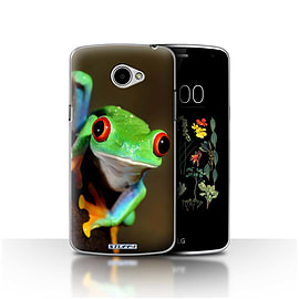 STUFF4 Case/Cover for LG K5/X220/Q6 / Frog Design / Wildlife Animals Collection Mobile phones