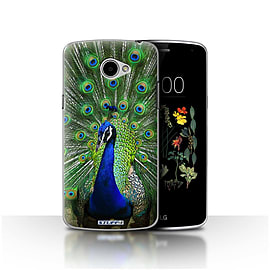 STUFF4 Case/Cover for LG K5/X220/Q6 / Peacock Design / Wildlife Animals Collection Mobile phones