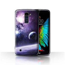 Official Chris Cold Case/Cover for LG K7 /X210 / Planet/Moon Design / Alien World Cosmos Collection Mobile phones