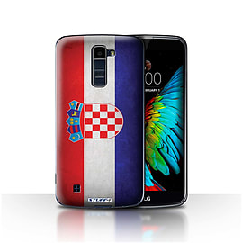 STUFF4 Case/Cover for LG K7 /X210 / Croatia/Croatian Design / Flags Collection Mobile phones