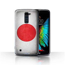 STUFF4 Case/Cover for LG K7 /X210 / Japan/Japanese Design / Flags Collection Mobile phones