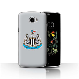 Official Newcastle United FC Case/Cover for LG K5/X220/Q6/Colour/Grey Design/NUFC Football Crest Mobile phones