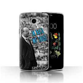 Official Newcastle United FC Case/Cover for LG K5/X220/Q6/We Trust Design/NUFC Rafa Ben?tez Mobile phones