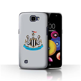 Newcastle United FC Case/Cover for LG K4/K120/K121/K130/Colour/Grey Design/NUFC Football Crest Mobile phones