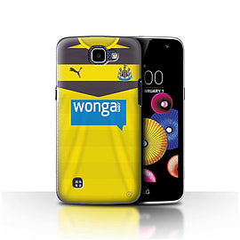Newcastle United FC Case/Cover for LG K4/K120/K121/K130/Goalkeeper Design/NUFC Home Shirt/Kit 15/16 Mobile phones
