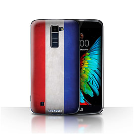 STUFF4 Case/Cover for LG K8/K350N/Phoenix 2 / Netherlands Design / Flags Collection Mobile phones