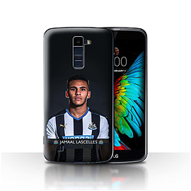 Newcastle United FC Case/Cover for LG K8/K350N/Phoenix 2/Lascelles Design/NUFC Football Player 15/16 Mobile phones