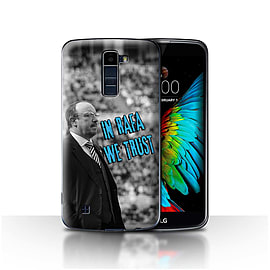 Official Newcastle United FC Case/Cover for LG K8/K350N/Phoenix 2/We Trust Design/NUFC Rafa Ben?tez Mobile phones