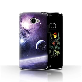 Official Chris Cold Case/Cover for LG K5/X220/Q6/Planet/Moon Design/Alien World Cosmos Mobile phones