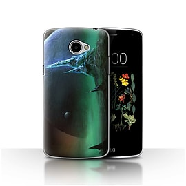 Official Chris Cold Case/Cover for LG K5/X220/Q6/Sapphire Peaks Design/Alien World Cosmos Mobile phones