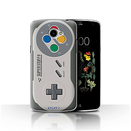 STUFF4 Case/Cover for LG K5/X220/Q6 / Super Nintendo Design / Games Console Collection Mobile phones