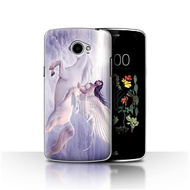 Official Elena Dudina Case/Cover for LG K5/X220/Q6 / I Can Fly Design / Fantasy Angel Collection Mobile phones