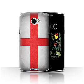 STUFF4 Case/Cover for LG K5/X220/Q6 / England/English Design / Flags Collection Mobile phones