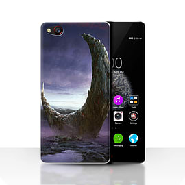 Official Chris Cold Case/Cover for ZTE Nubia Z9 / Broken Moon Design / Alien World Cosmos Collection Mobile phones