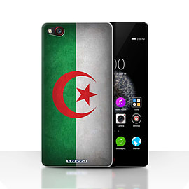 STUFF4 Case/Cover for ZTE Nubia Z9 / Algeria/Algerian Design / Flags Collection Mobile phones