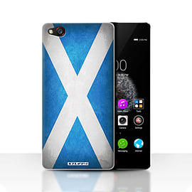 STUFF4 Case/Cover for ZTE Nubia Z9 / Scotland/Scottish Design / Flags Collection Mobile phones