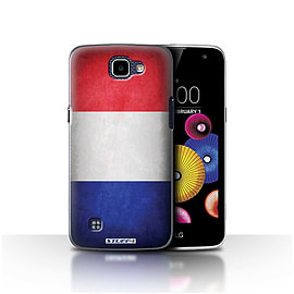 STUFF4 Case/Cover for LG K4/K120/K121/K130 / France/French Design / Flags Collection Mobile phones