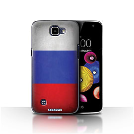 STUFF4 Case/Cover for LG K4/K120/K121/K130 / Russia/Russian Design / Flags Collection Mobile phones