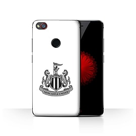 Official Newcastle United FC Case/Cover for ZTE Nubia Z11 Mini/Mono/White Design/NUFC Football Crest Mobile phones