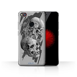 STUFF4 Case/Cover for ZTE Nubia Z11 Mini / Thorns Design / Skull Art Sketch Collection Mobile phones