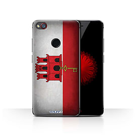 STUFF4 Case/Cover for ZTE Nubia Z11 Mini / Gibraltar/Gibraltarian Design / Flags Collection Mobile phones