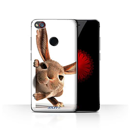 STUFF4 Case/Cover for ZTE Nubia Z11 Mini / Peeking Bunny Design / Funny Animals Collection Mobile phones