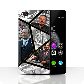 Official Newcastle United FC Case/Cover for ZTE Nubia Z9/Montage Design/NUFC Rafa Ben?tez Mobile phones