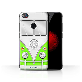 STUFF4 Case/Cover for ZTE Nubia Z11 Mini / Green Design / VW Camper Van Collection Mobile phones