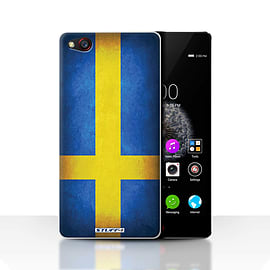 STUFF4 Case/Cover for ZTE Nubia Z9 / Sweden/Swedish Design / Flags Collection Mobile phones