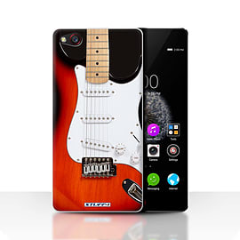 STUFF4 Case/Cover for ZTE Nubia Z9 / Red Electric Design / Guitar Collection Mobile phones