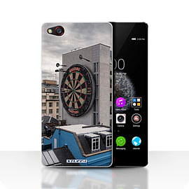 STUFF4 Case/Cover for ZTE Nubia Z9 / Bullseye Design / Imagine It Collection Mobile phones