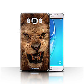 STUFF4 Case/Cover for Samsung Galaxy J5 2016 / Lion Design / Wildlife Animals Collection Mobile phones